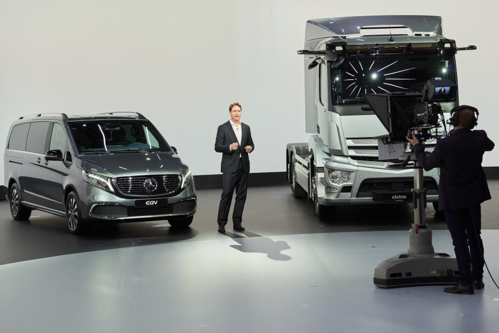 Ola Källenius at the Daimler AG annual meeting