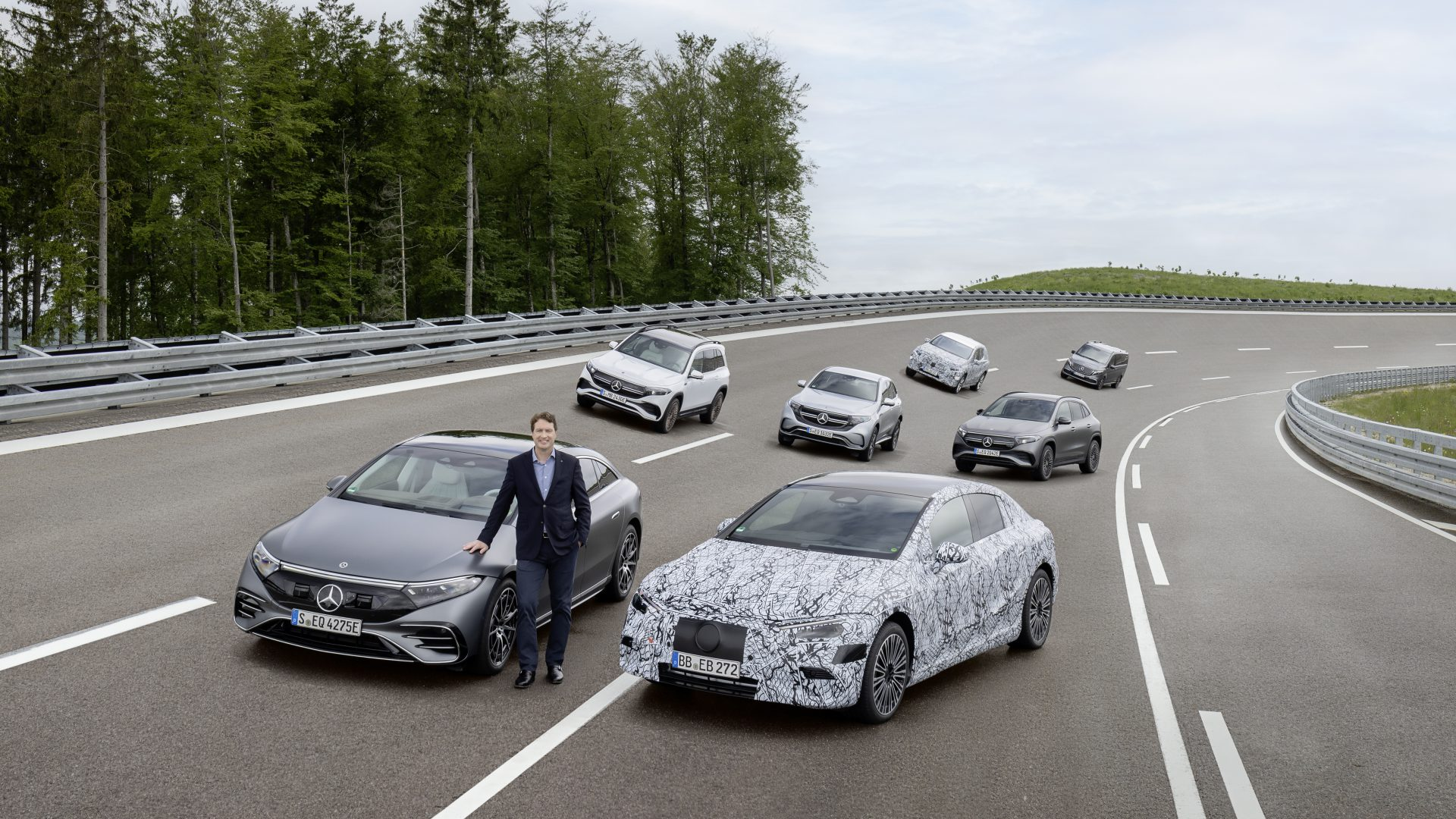 mercedes all-electric